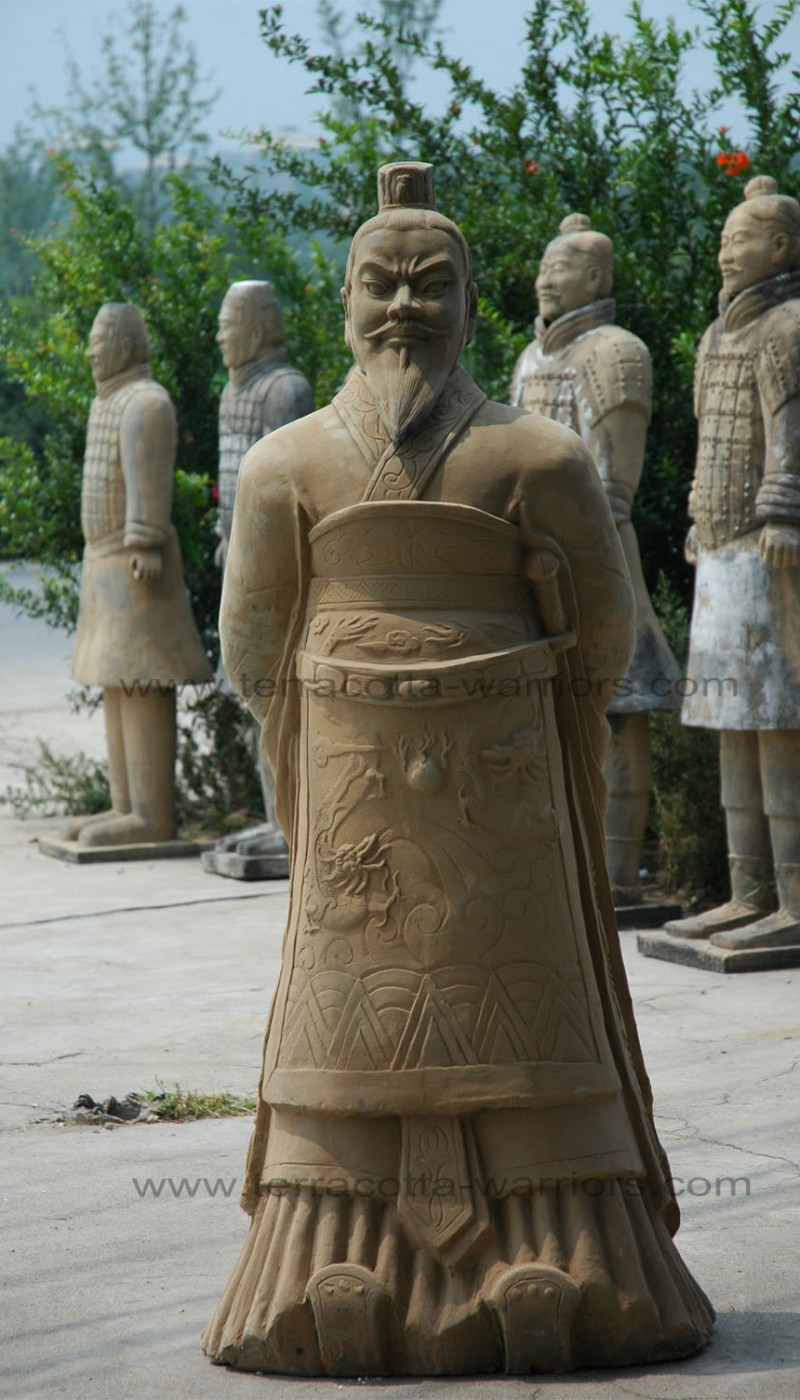 View Details Of The Statue Emperor Qin Shi Huang Di 3 4 Life Size In 10001505 Pixels 245KB